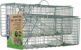 comprar comparacion Defenders Animal Trap Cage - (Trampa humana fácil de instalar para conejos, gatos y fauna silvestre de tamaño similar, apt...