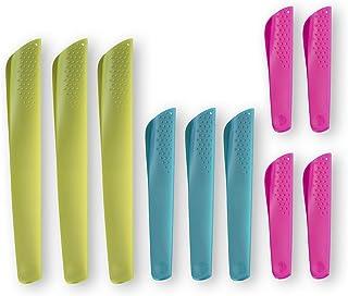 nosh - Protector de cuchilla universal (3 tamaños, 10 unidades)