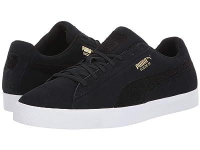 PUMA Golf Suede G Patch LE (Puma Black/Puma Black) Men