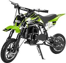 XtremepowerUS 49CC 2-Stroke Gas Motorized Mini Pocket Dirt Bike Off Road Motorcycle Ride-on Motor EPA, Green