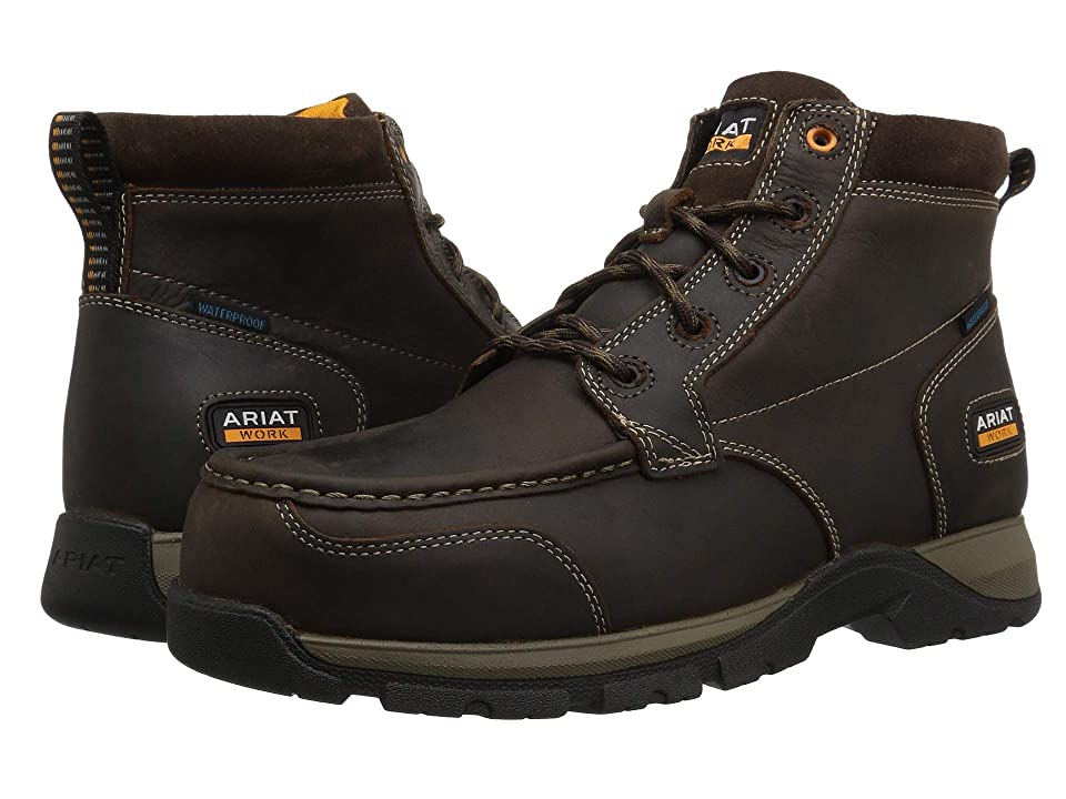 Ariat Edge LTE Chukka H2O Composite Toe (Dark Brown) Men