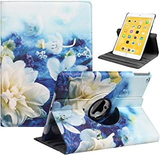iPad 9.7 2018/2017, iPad Air 2, iPad Air Case - Rotating Stand Protective Cover with Auto Sleep Wake for Apple New iPad 9....