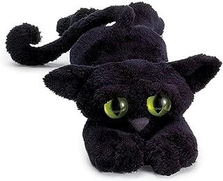 """Manhattan Toy Lanky Cats Ziggy Black Cat 14"""" Plush"""