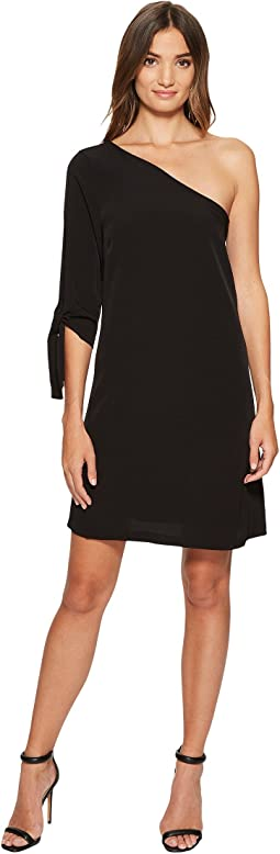 CeCe - Sophia - Tie Sleeve One Shoulder Dress