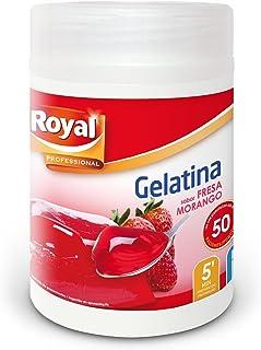 comprar comparacion Royal Gelatina Fresa Hostelería - Paquete de 12 x 70.83 gr - Total: 850 gr