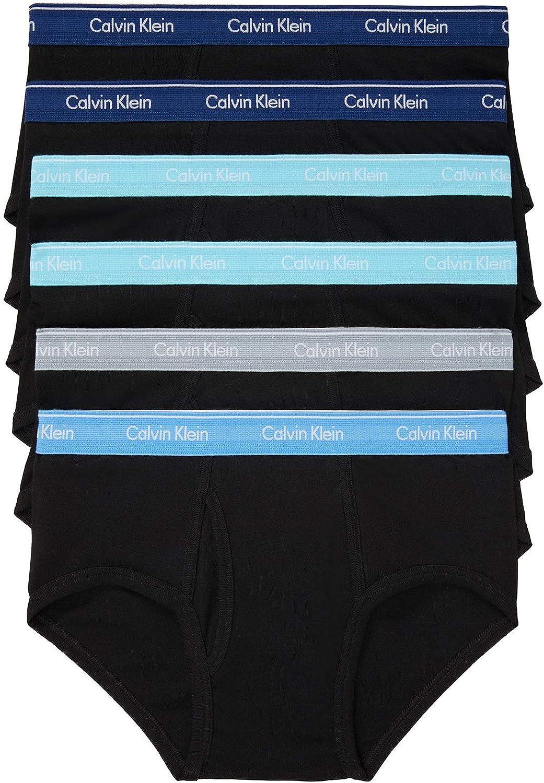 Calvin 与え 定番 Klein Men's Cotton Classics Multipack Briefs