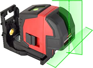 Green Laser Level ennoLogic eV164P - Self Leveling Cross Line Laser with Horizontal Vertical Lines and Plumb Dots