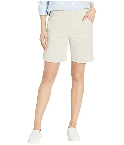 Jag Jeans 8 Gracie Pull-On Shorts in Twill (Stone) Women