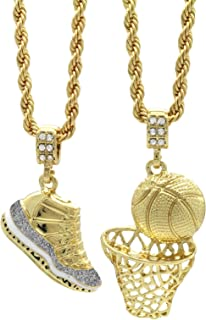 Best iced out basketball chain Reviews
