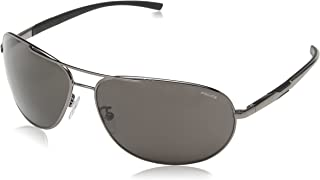 Police Sunglasses S8526N 568P Shiny Gunmetal Grey Polarized