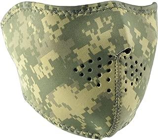 Zanheadgear Neoprene Half Face Mask, Digital ACU Camouflage