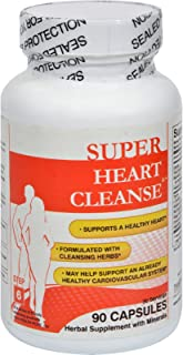 Health Plus Heart Cleanse Total Body Cleansing System - Herbal Supplement with Vitamins - 90 Capsules (Pack of 2)