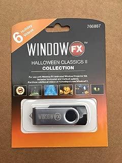 WindowFX Halloween Classics II Collection 6 Video USB
