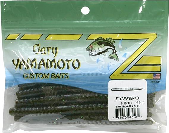 "5"" Senko Baits 20 Count Aro Plstix Salted Sinking Sinko Stick Worms"