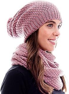 f73a224b2d2e3 HILLTOP - Ensemble d'hiver de foulard d'hiver et bonnet assorti/Bonnet