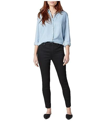 Jag Jeans Valentina High-Rise Skinny Fit Jeans (Forever Black) Women
