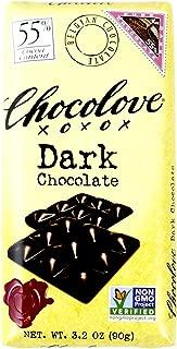 Chocolove Chocolate Bar, 55% Dark, 3.2 Ounce (Pack of 12)