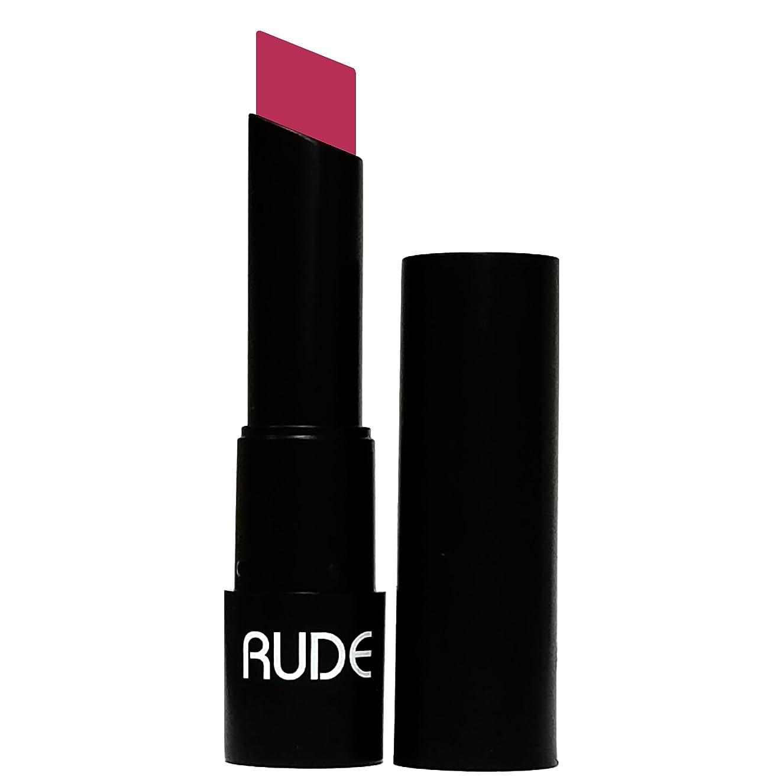 新しい意味追放する要件(6 Pack) RUDE Attitude Matte Lipstick - Cocky (並行輸入品)