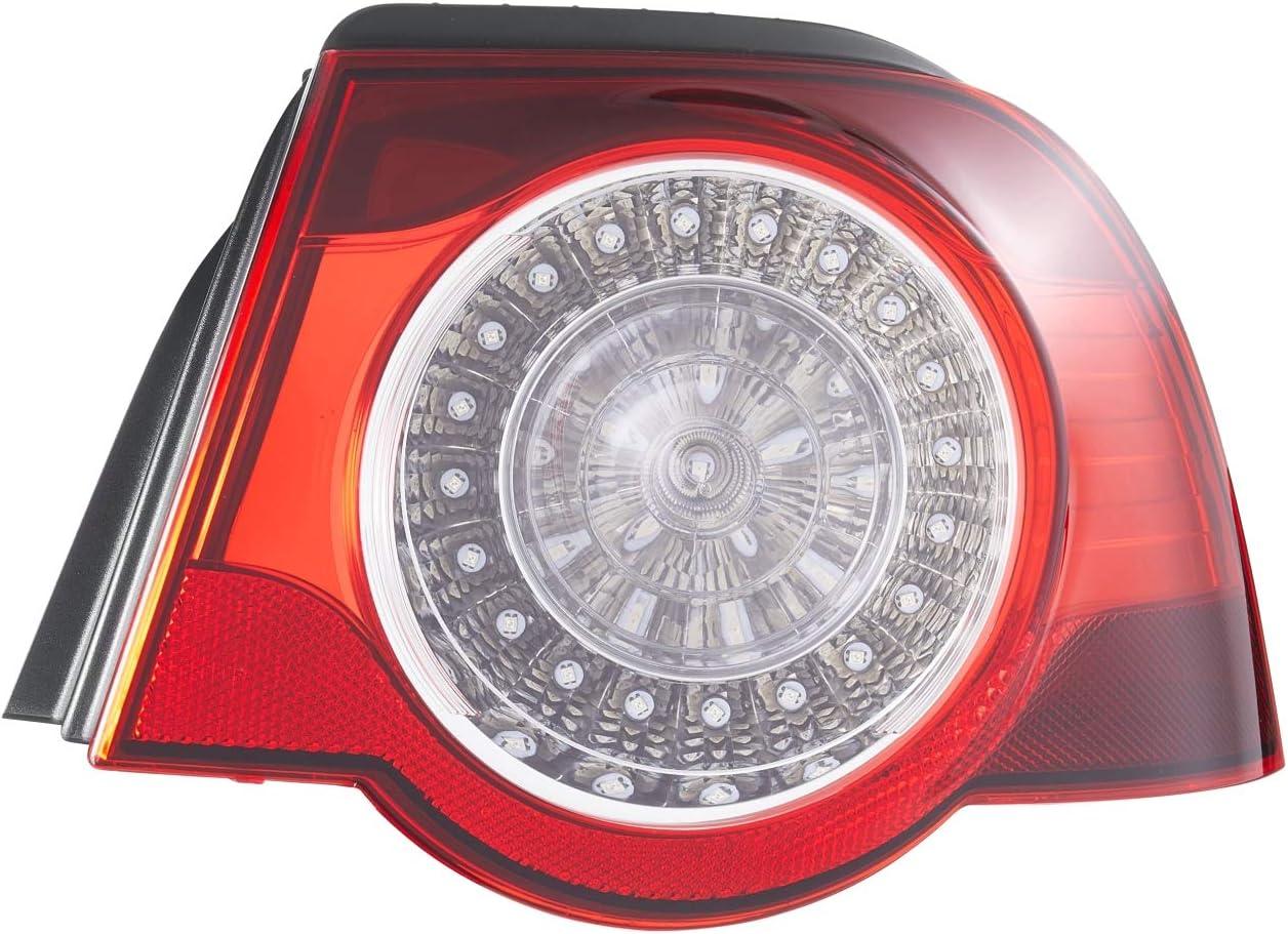 Hella 2va 009 246 131 Heckleuchte Led Glasklar Rot äusserer Teil Links Auto