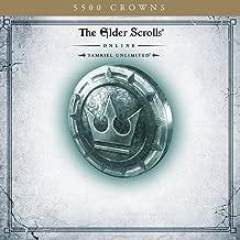 The Elder Scrolls Online: Tamriel Unlimited - 5500 Crowns - [PS4 Digital Code]