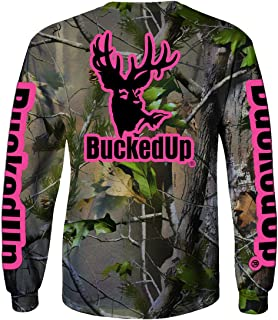 BUCKED UP BuckedUp Long Sleeve Realtree APG Camo with Logo