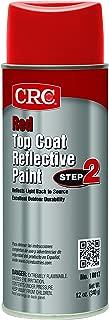 CRC 18017 Red Reflective Paint - Top Coat, 12 WT oz, 16 fl. oz. Aerosol