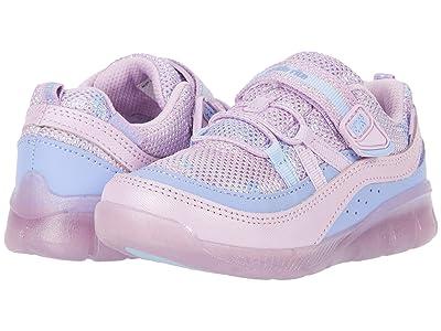 Stride Rite M2P Lighted Burst (Toddler) (Purple Multi) Girls Shoes