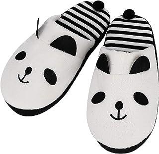 Mounter Pantoufles doubl/ées Chaudes Peluche Pantoufle Grands Pieds Creatif Hommes Et Femmes dhiver Maison Chaussures Cadeau de No/ël