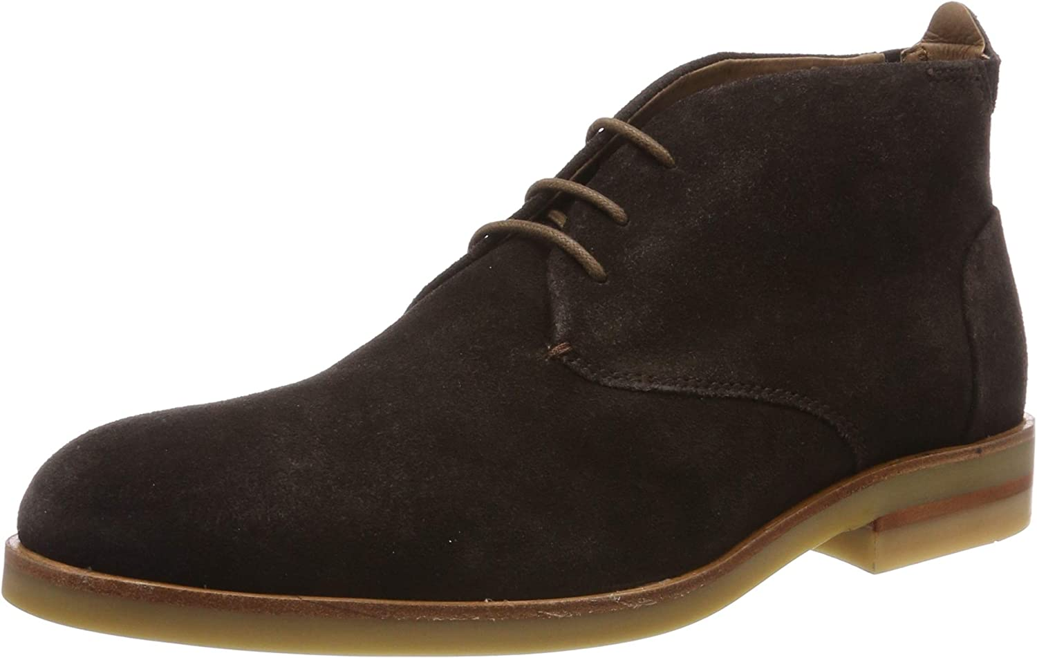 H By Hudson Mens Bedlington Work Formal Office Chukka Cow Suede Boots