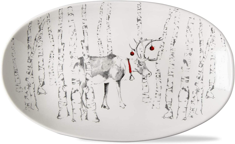 TAG Winter Popular popular Nippon regular agency Sketches Serving Bowl Stag