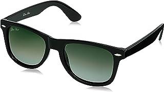 LOUIS SMIT Polarized Wayfarer Men's Sunglasses - (LS108 C3 55|55|Green Color Lens)