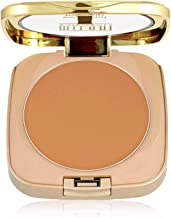 Milani Mineral Compact Makeup - Warm (0.3 Ounce) Vegan, Cruelty-Free Mineral Face Powder with Full Coverage to Conceal Imperfections