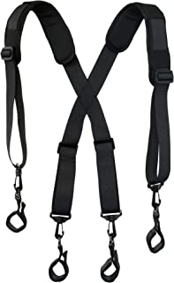 Men Paddded Adjustable Tool Belt Suspender Duty Belt Suspender Tactical Duty Belt Harness..