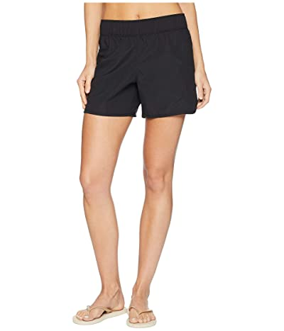 Hurley Supersuede Beachrider Boardshorts 5 (Black) Women
