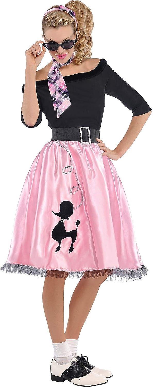 Amscan 841274 Financial sales sale Fashionable Sock Hop Size 1 Large Costume Large-scale sale Adult