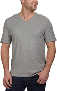 Men's Short Sleeve V-Neck Cotton T-Shirt