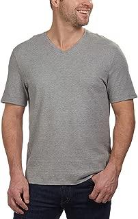 Men's Short Sleeve V-Neck Cotton T-Shirt