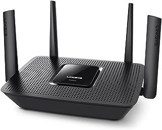 Linksys EA8300 - Router Wi-Fi AC2200 Tri-Banda MAX-Stream (MU-MIMO, 4 Antenas, Beamforming, 4 x Gigabit Ethernet, 1 x USB ...