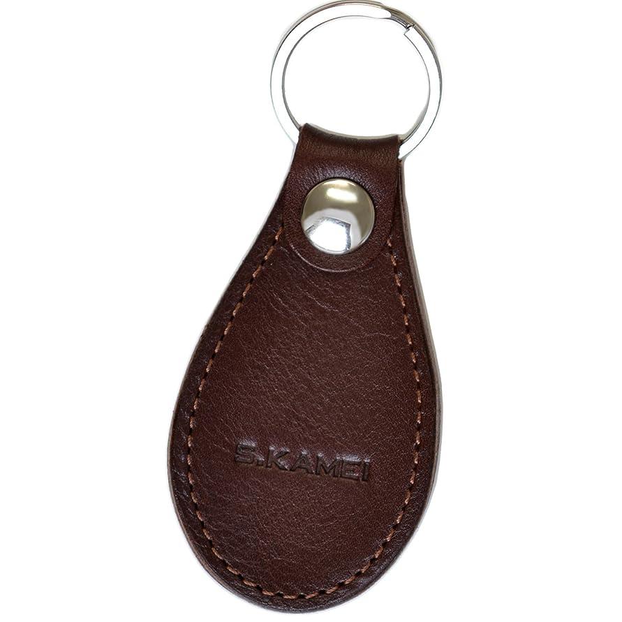 オーディション損なう明示的に【LEUCA(レウカ) 本革 軽量 靴べらキーホルダー 10色 】 日本製 LE-C001