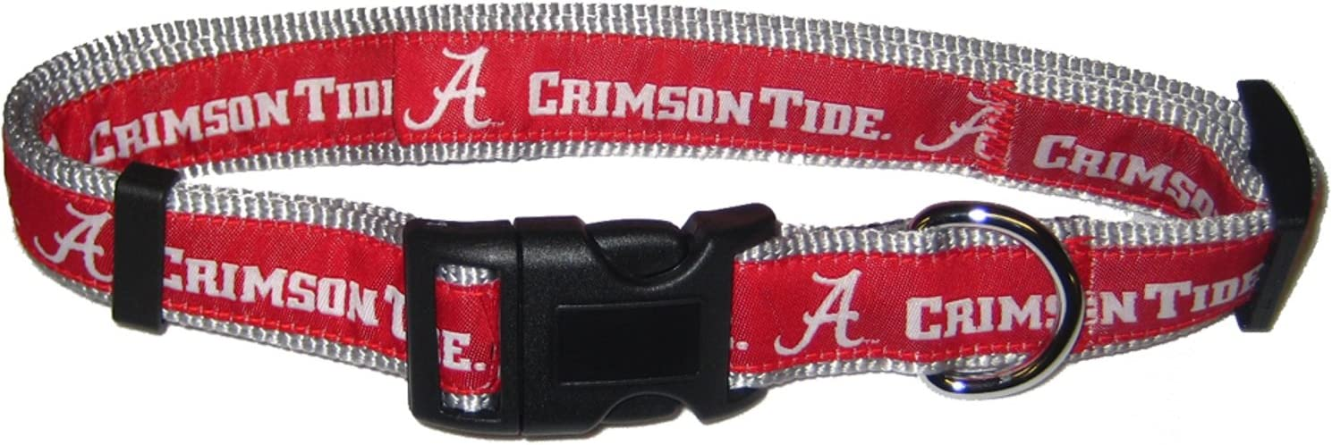 Pets Max 71% OFF First Alabama Collar Crimson Deluxe Tide