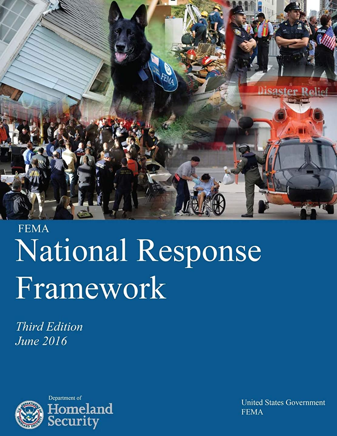 博物館修羅場実行FEMA National Response Framework Third Edition June 2016 Department of Homeland Security