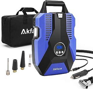 Akface Compresor de Aire Coche,Inflador Coches Portatil,