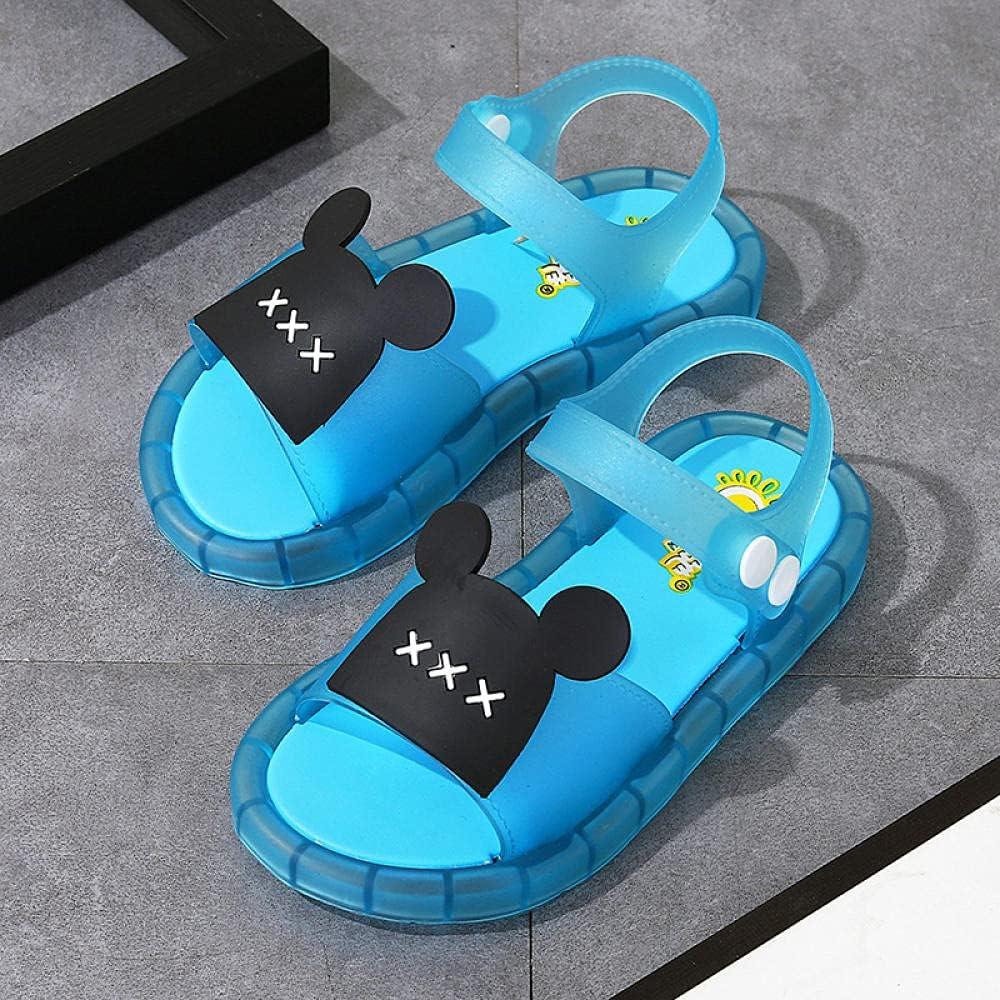 Mens Flip Flops Size 11,Boy Girl Led Shoes Shining Flash Slippers Best Gift Birthday Halloween Christmas-Blue_26/27 Shoes Length 160mm