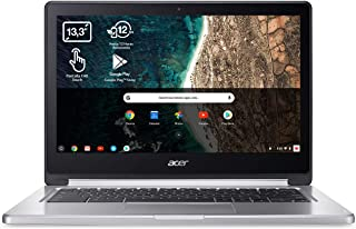 "Acer Chromebook R13 CB5-312T - Portátil Táctil 13.3"" FullHD (MTK M8173C, 4GB RAM, 64GB eMMc, IMG PowerVR GX6250 Graphics, ..."