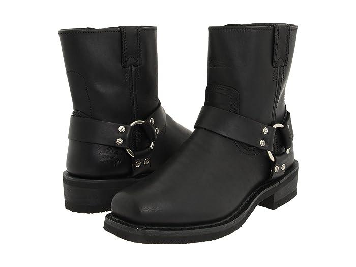 Harley-Davidson  El Paso (Black) Mens Work Zip Boots