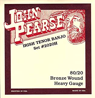 John Pearse Strings Irish Tenor Heavy Banjo