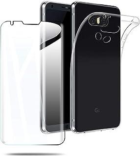 【1枚セット LG V30+ L-01K / JOJO L-02K / isai V30+ LGV35 ガラスフィルム + TPUソフトシェル】LG V30+ L-01K / JOJO L-02K / isai V30+ LGV35 保護ガラス...