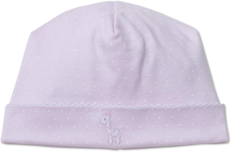 Kissy Kissy Baby-Girls Infant Pique Giraffe Family Pink Dot Hat