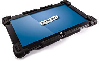 """Universal Tablet PC Silicone Gel Case for 10"""" to 12.5"""" - Suitable for 10"""", 10.1"""", 10.6"""", 11.1"""", 11.6"""", 12"""" Tablet PCs (Black)"""