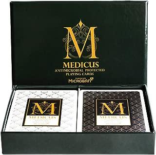 MEDICUS PVC防水 トランプ マジックカードゲーム ブラック クリスマス プレゼント トランプ ポーカーセット